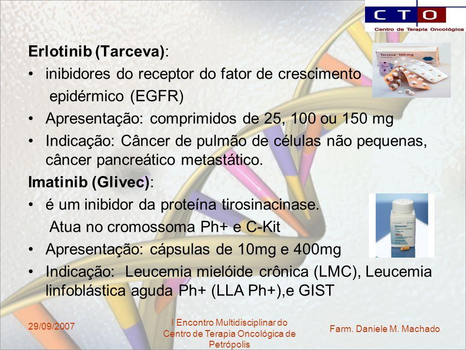 inibidores do receptor do fator de crescimento epidérmico (EGFR)