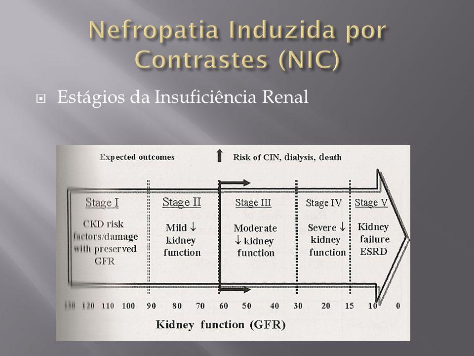 Nefropatia Induzida por Contrastes (NIC)