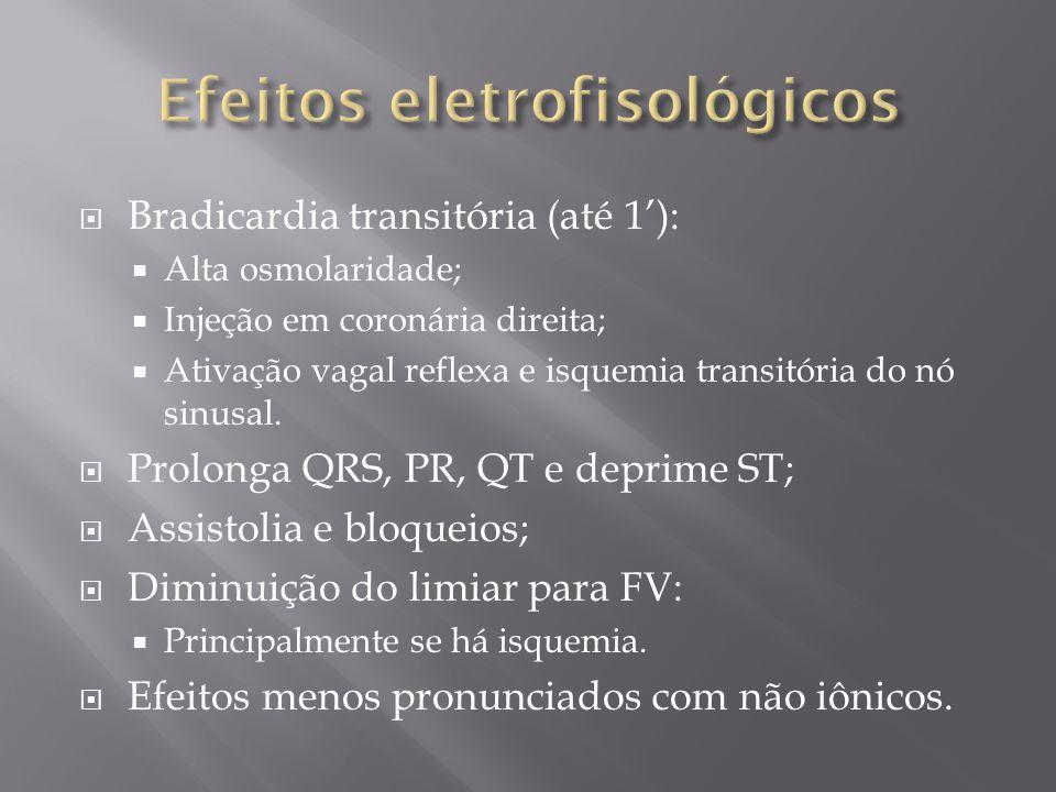 Efeitos eletrofisológicos