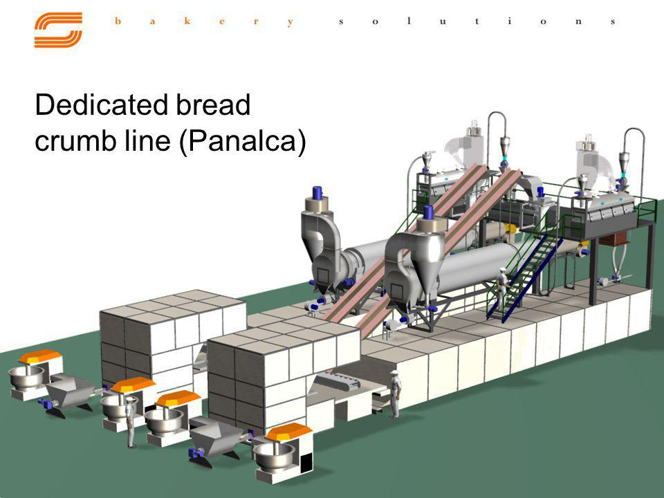 Dedicated bread crumb line (Panalca)