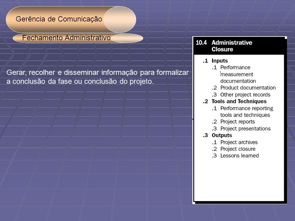 Gerência de Comunicação