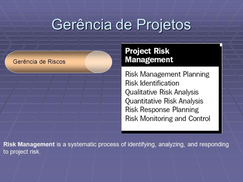 Gerência de Projetos Gerência de Riscos