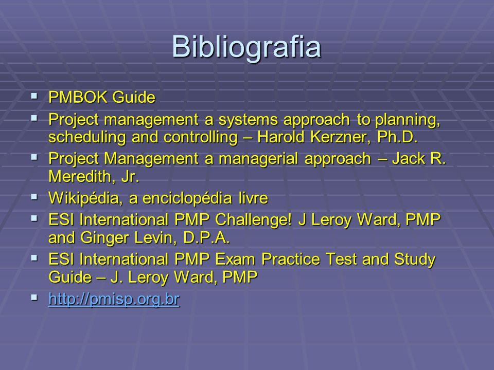 Bibliografia PMBOK Guide