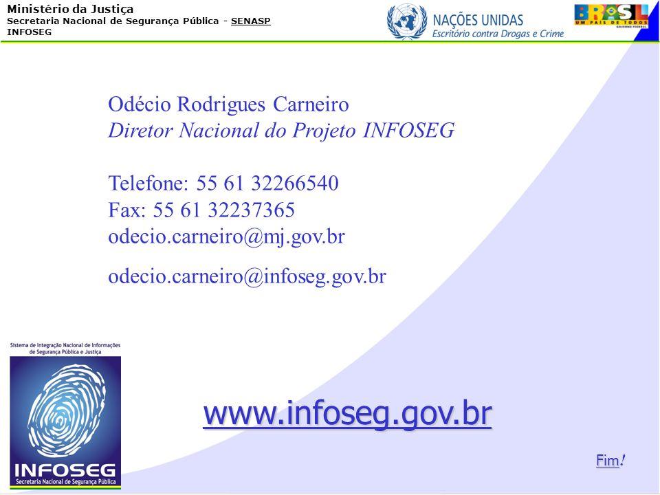 www.infoseg.gov.br Odécio Rodrigues Carneiro