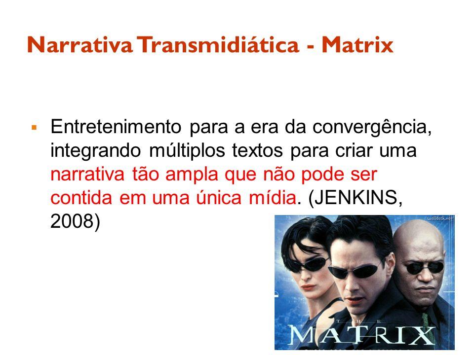 Narrativa Transmidiática - Matrix