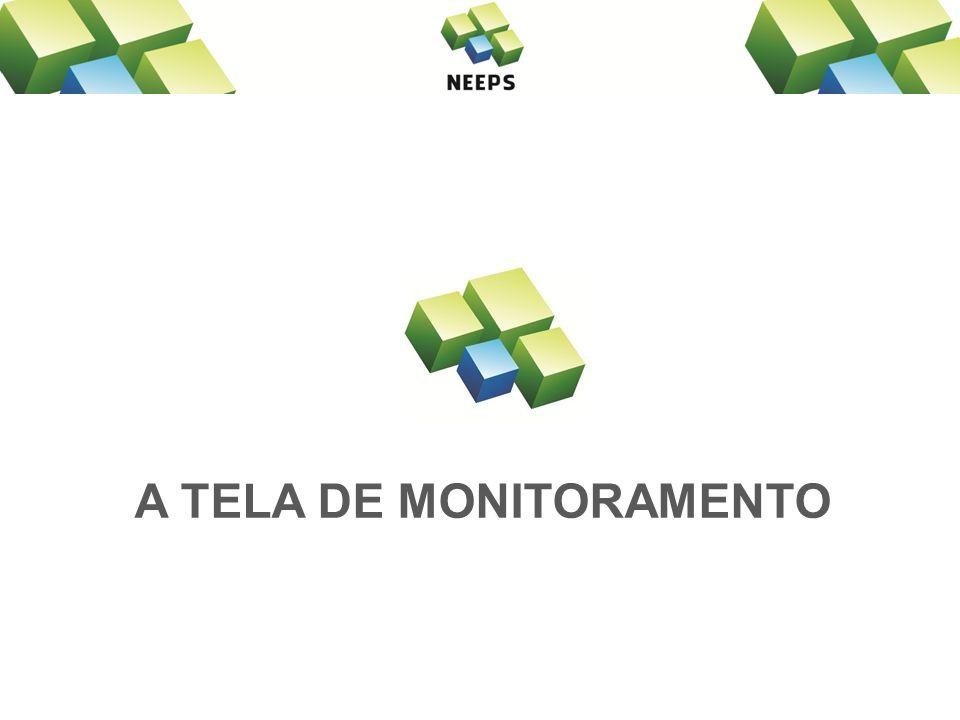 A TELA DE MONITORAMENTO