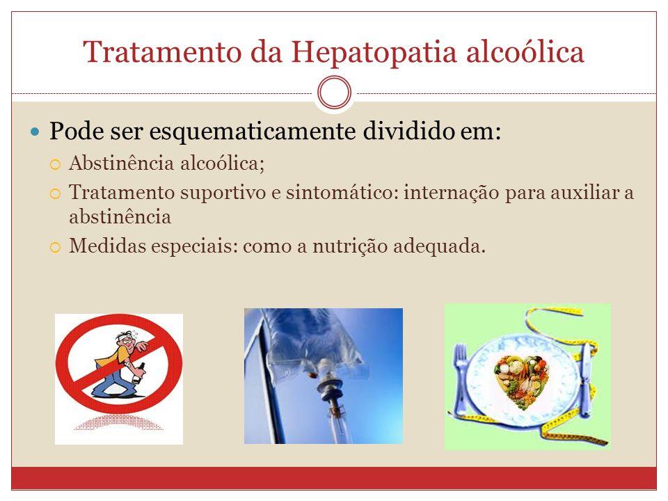 Tratamento da Hepatopatia alcoólica
