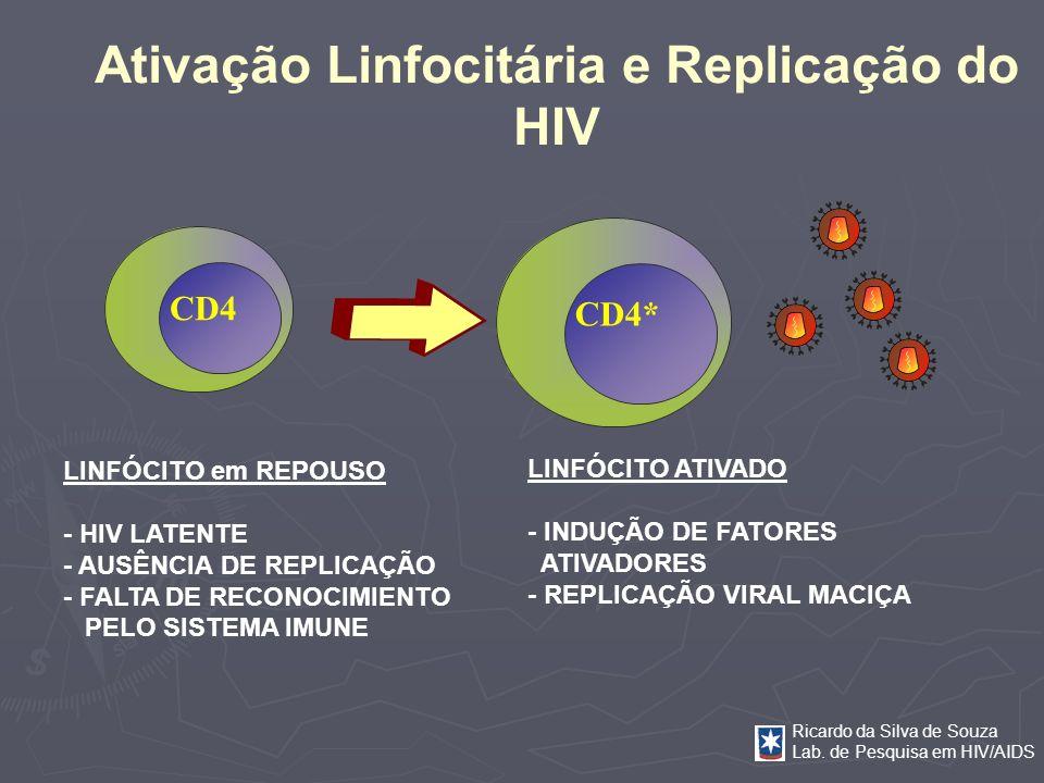 Ativação Linfocitária e Replicação do HIV