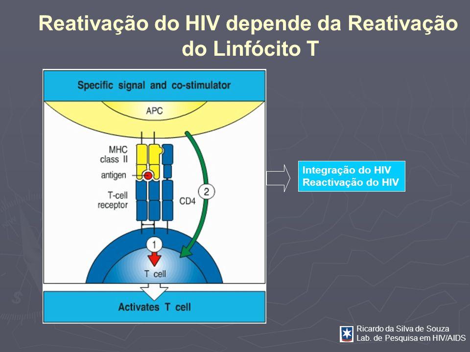 Reativação do HIV depende da Reativação