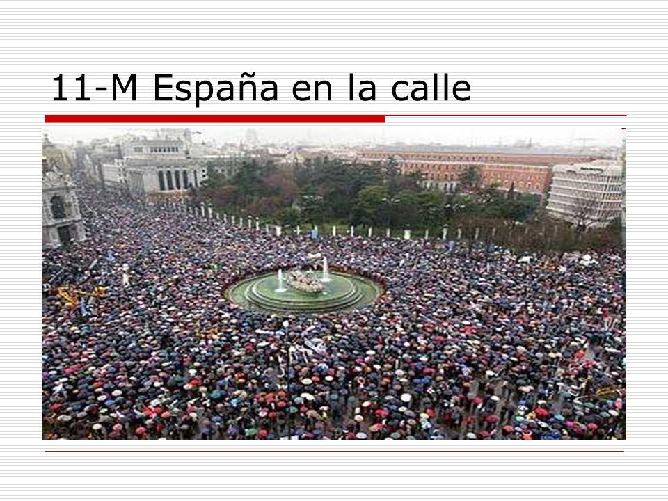 11-M España en la calle
