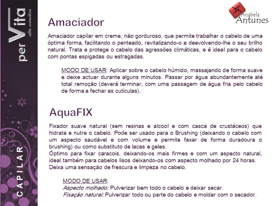 pervita Amaciador AquaFIX alta cosmética A Antunes CAPILAR