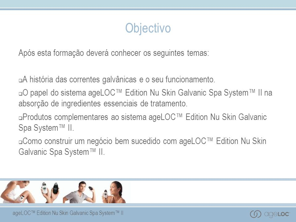 Objectivo Após esta formação deverá conhecer os seguintes temas: