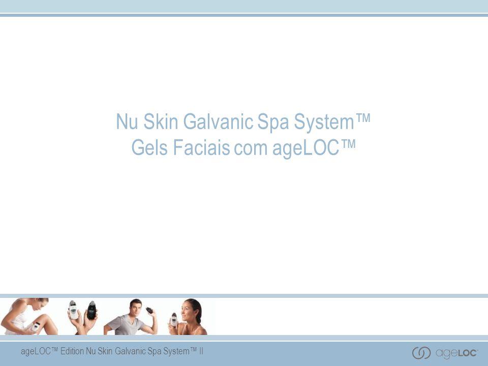 Nu Skin Galvanic Spa System™ Gels Faciais com ageLOC™