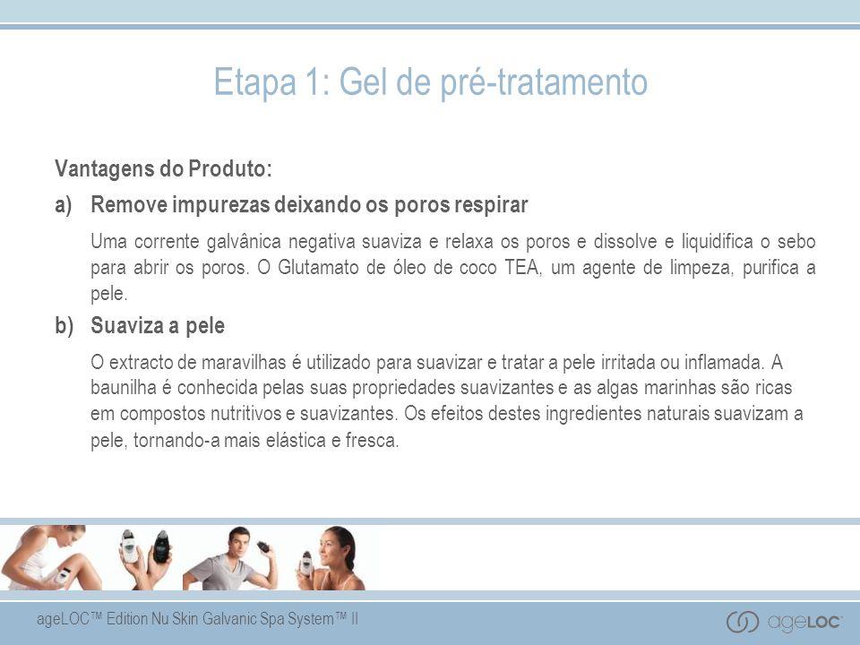 Etapa 1: Gel de pré-tratamento