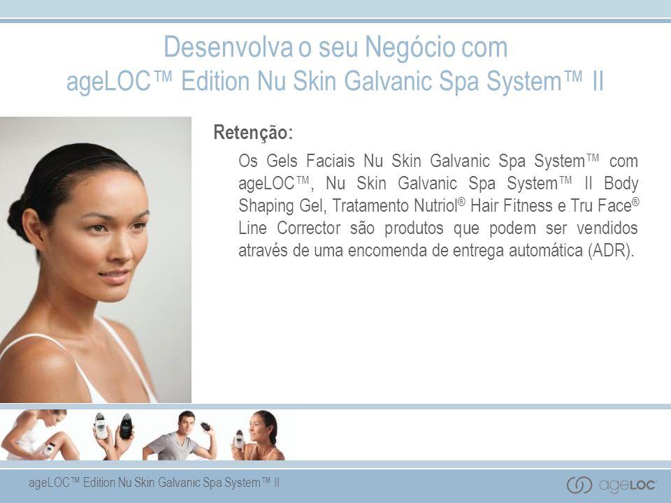 Desenvolva o seu Negócio com ageLOC™ Edition Nu Skin Galvanic Spa System™ II