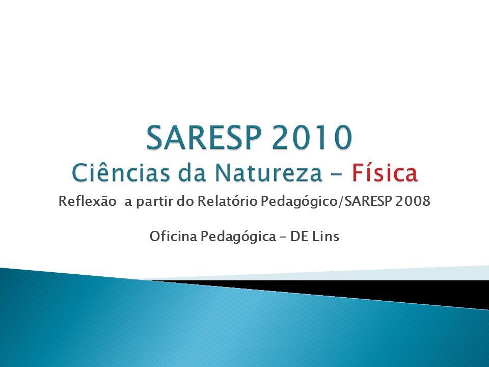 SARESP 2010 Ciências da Natureza - Física