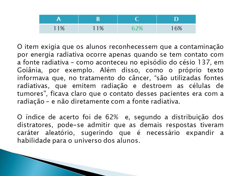 A B. C. D. 11% 62% 16%