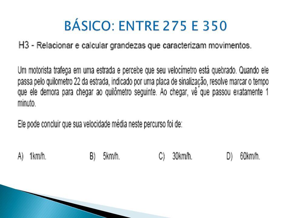 BÁSICO: ENTRE 275 E 350