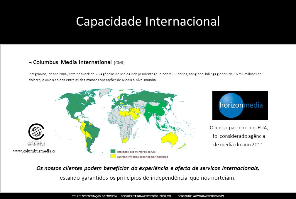 Capacidade Internacional