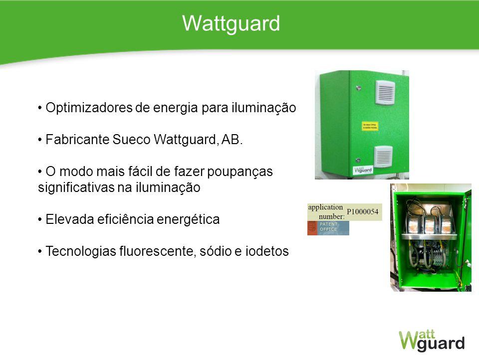 Wattguard Optimizadores de energia para iluminação