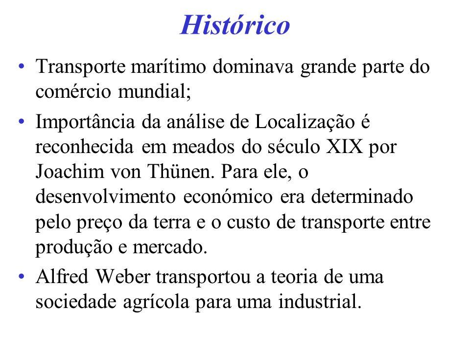 Histórico Transporte marítimo dominava grande parte do comércio mundial;