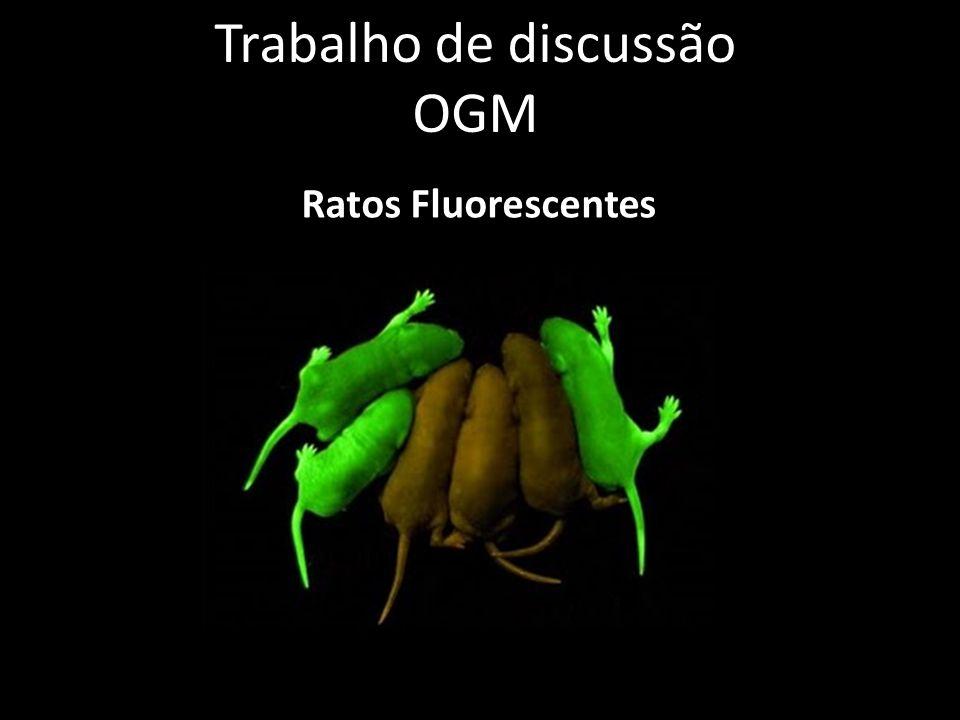 Trabalho de discussão OGM