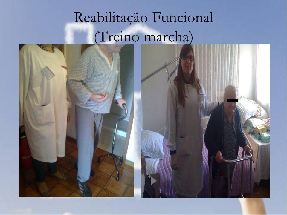Reabilitação Funcional (Treino marcha)