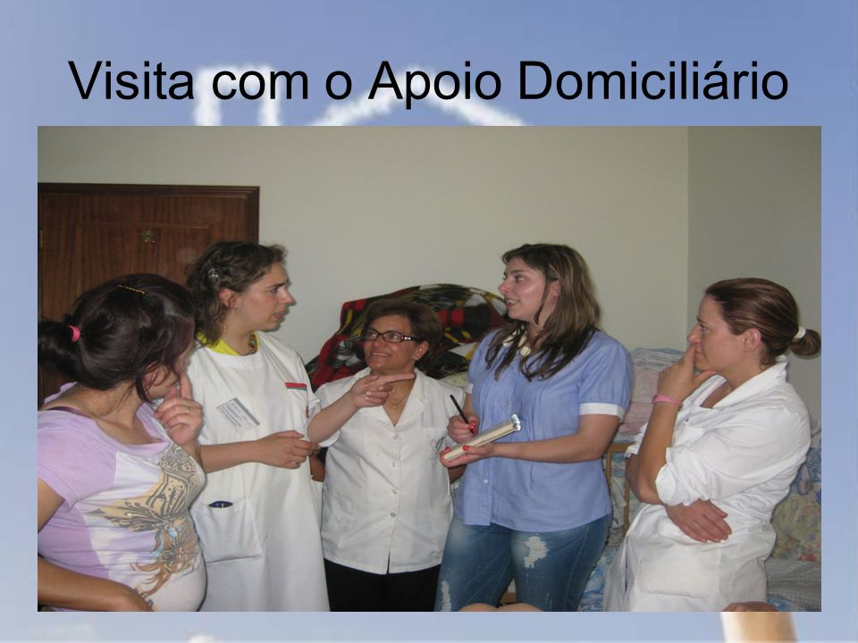 Visita com o Apoio Domiciliário