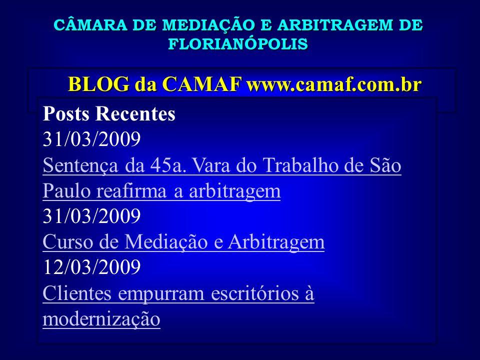 BLOG da CAMAF www.camaf.com.br