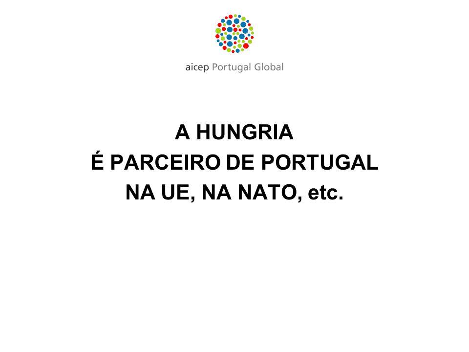 A HUNGRIA É PARCEIRO DE PORTUGAL NA UE, NA NATO, etc.