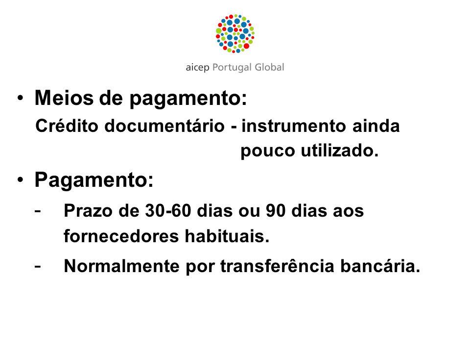 Crédito documentário - instrumento ainda pouco utilizado.