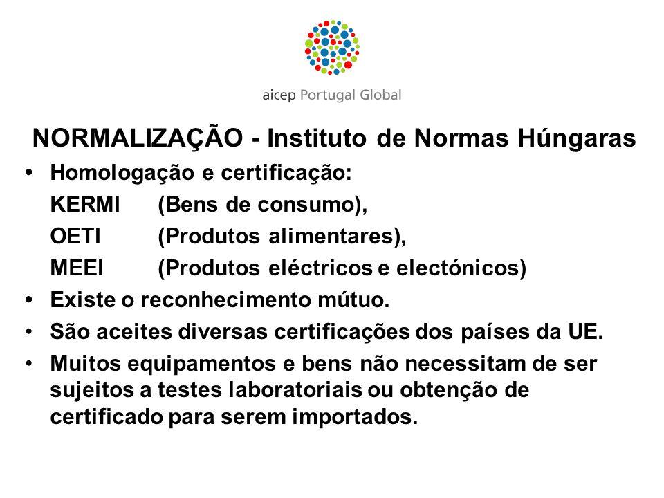 NORMALIZAÇÃO - Instituto de Normas Húngaras
