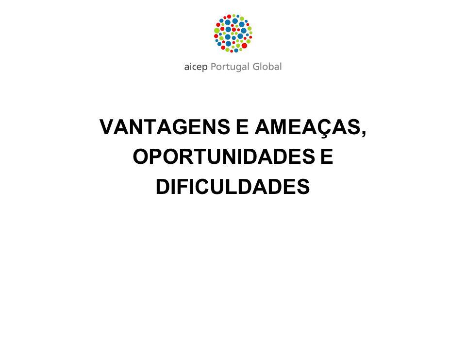 VANTAGENS E AMEAÇAS, OPORTUNIDADES E DIFICULDADES