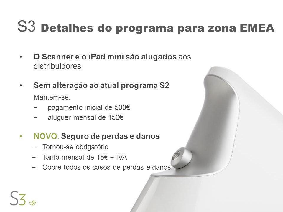 S3 Detalhes do programa para zona EMEA