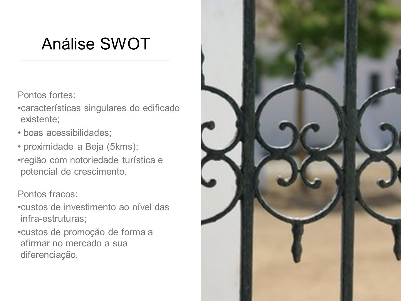 Análise SWOT Pontos fortes: