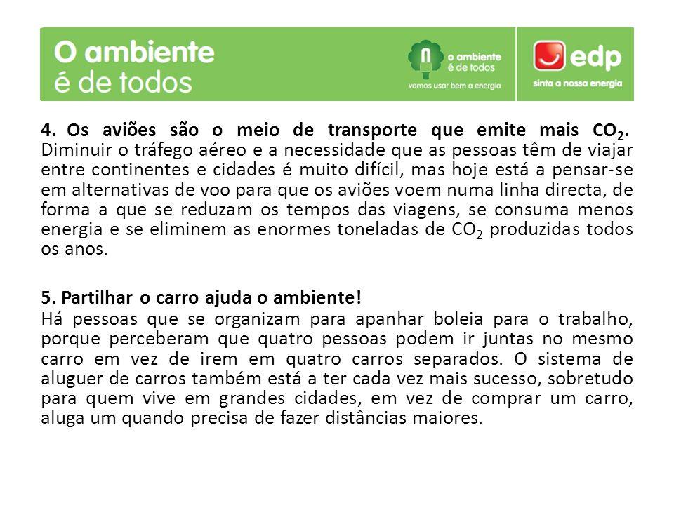 5. Partilhar o carro ajuda o ambiente!
