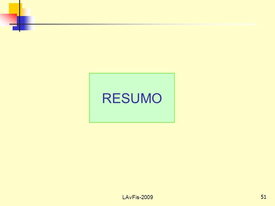 RESUMO LAvFis-2009