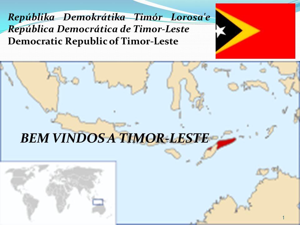 BEM VINDOS A TIMOR-LESTE