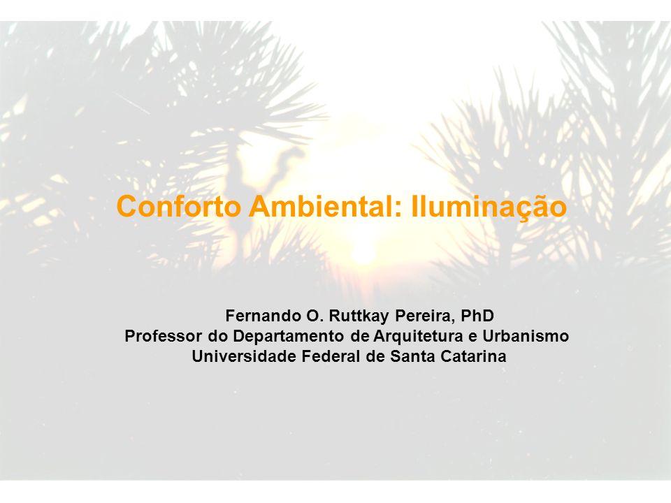 Conforto Ambiental: Iluminação