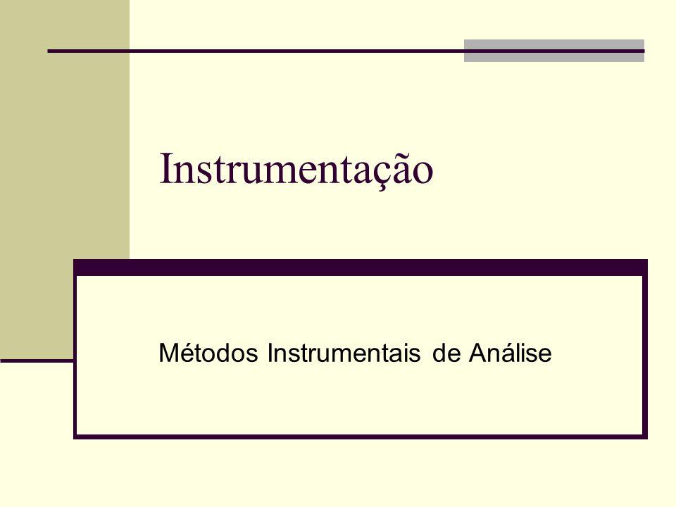 Métodos Instrumentais de Análise