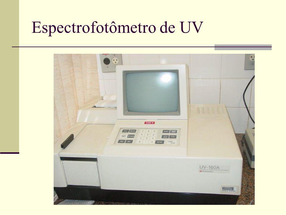 Espectrofotômetro de UV