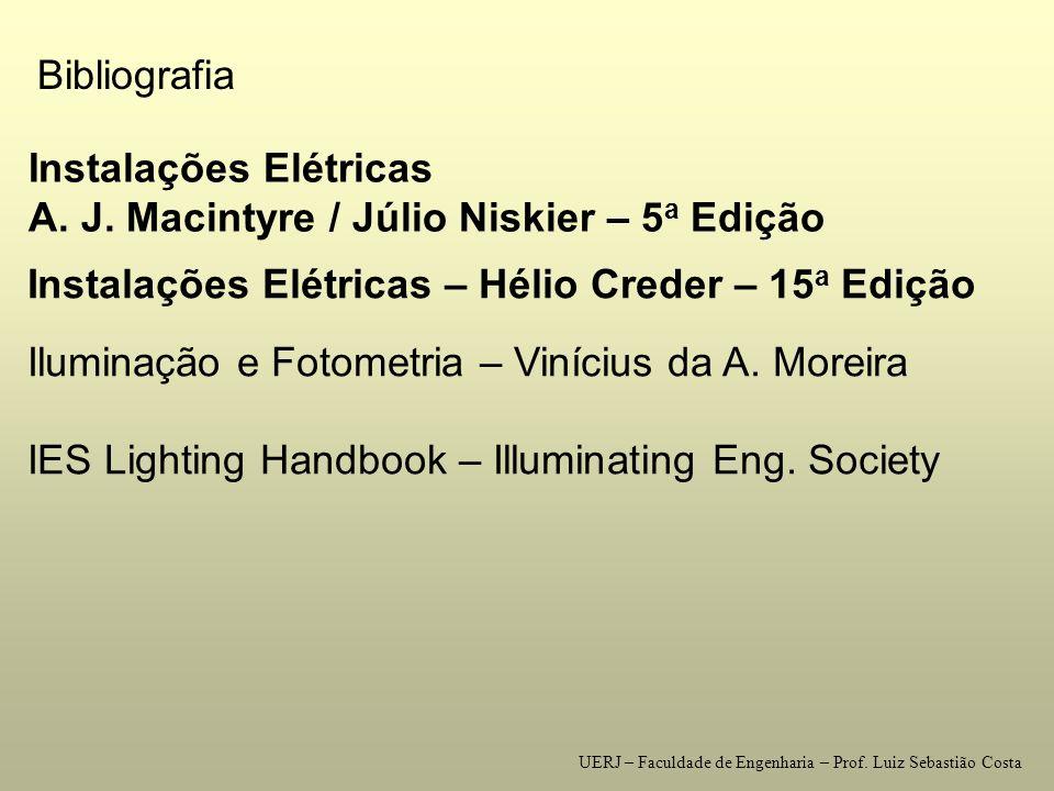 Instalações Elétricas A. J. Macintyre / Júlio Niskier – 5a Edição