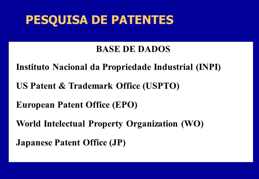 Instituto Nacional da Propriedade Industrial (INPI)