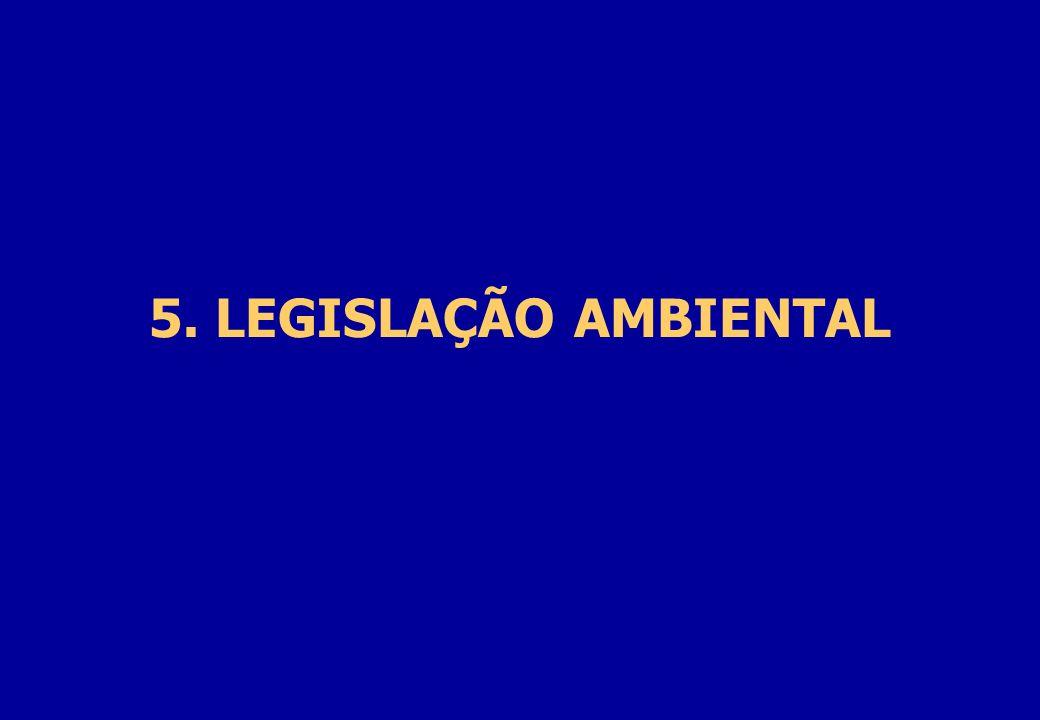 5. LEGISLAÇÃO AMBIENTAL