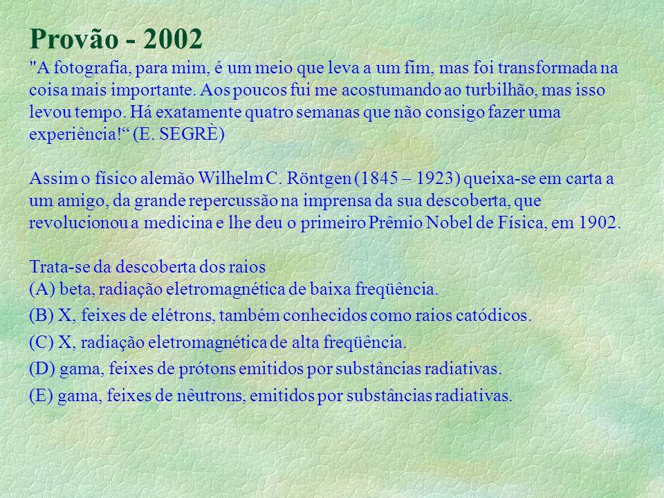 Provão - 2002