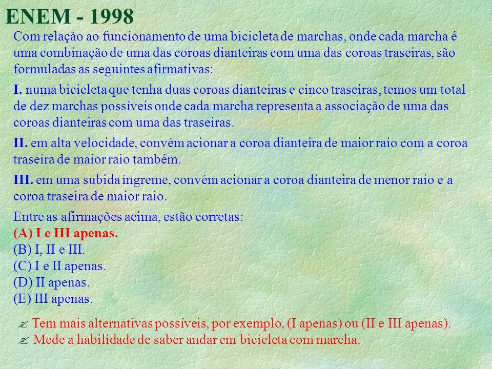 ENEM - 1998