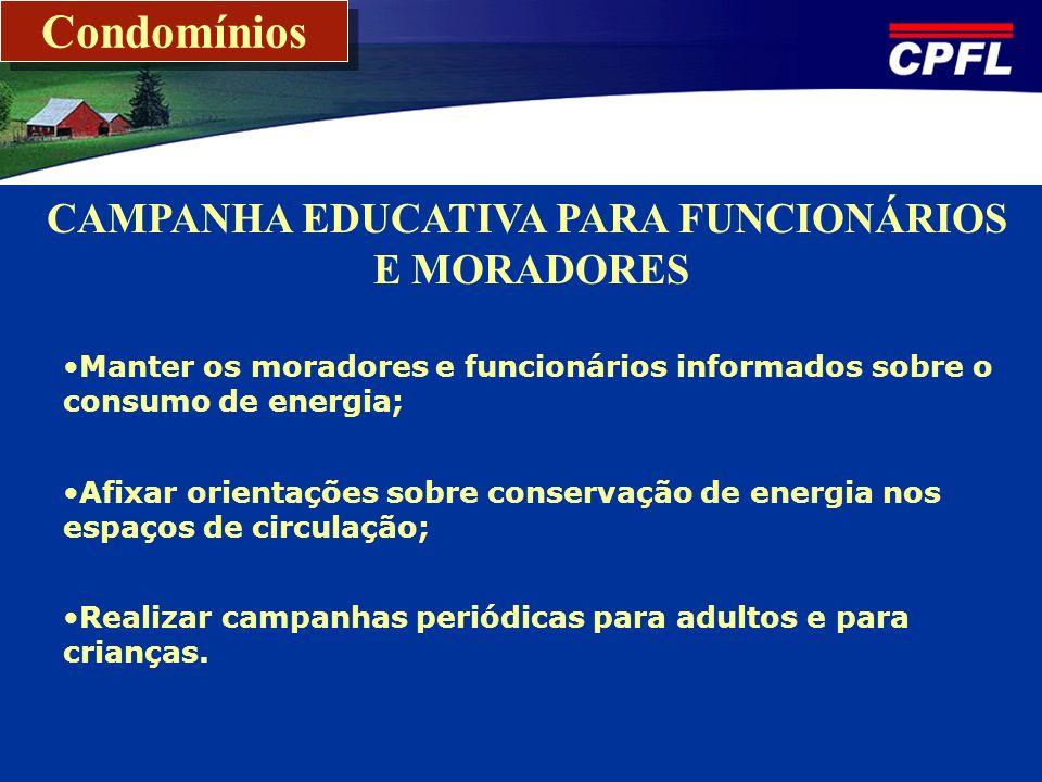 CAMPANHA EDUCATIVA PARA FUNCIONÁRIOS