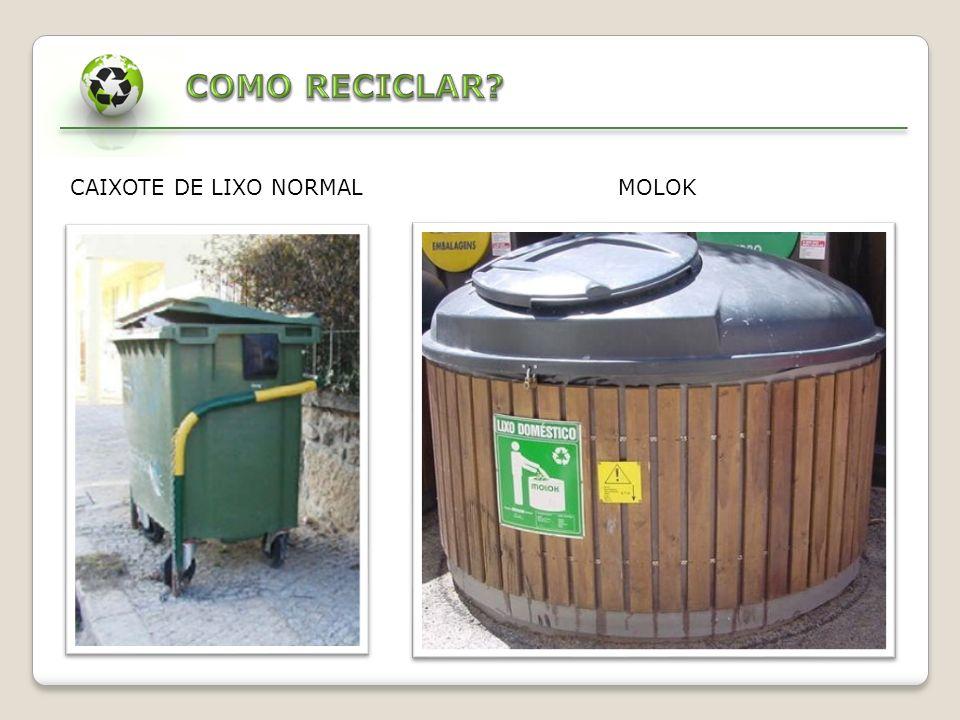 COMO RECICLAR CAIXOTE DE LIXO NORMAL MOLOK