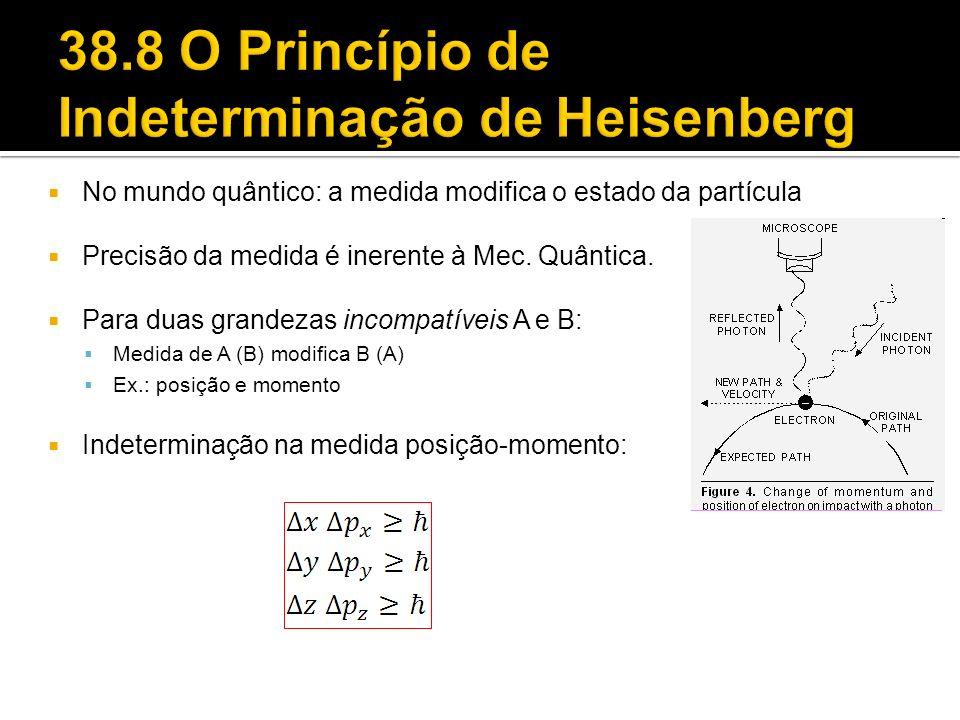 38.8 O Princípio de Indeterminação de Heisenberg