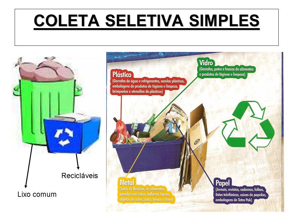 COLETA SELETIVA SIMPLES